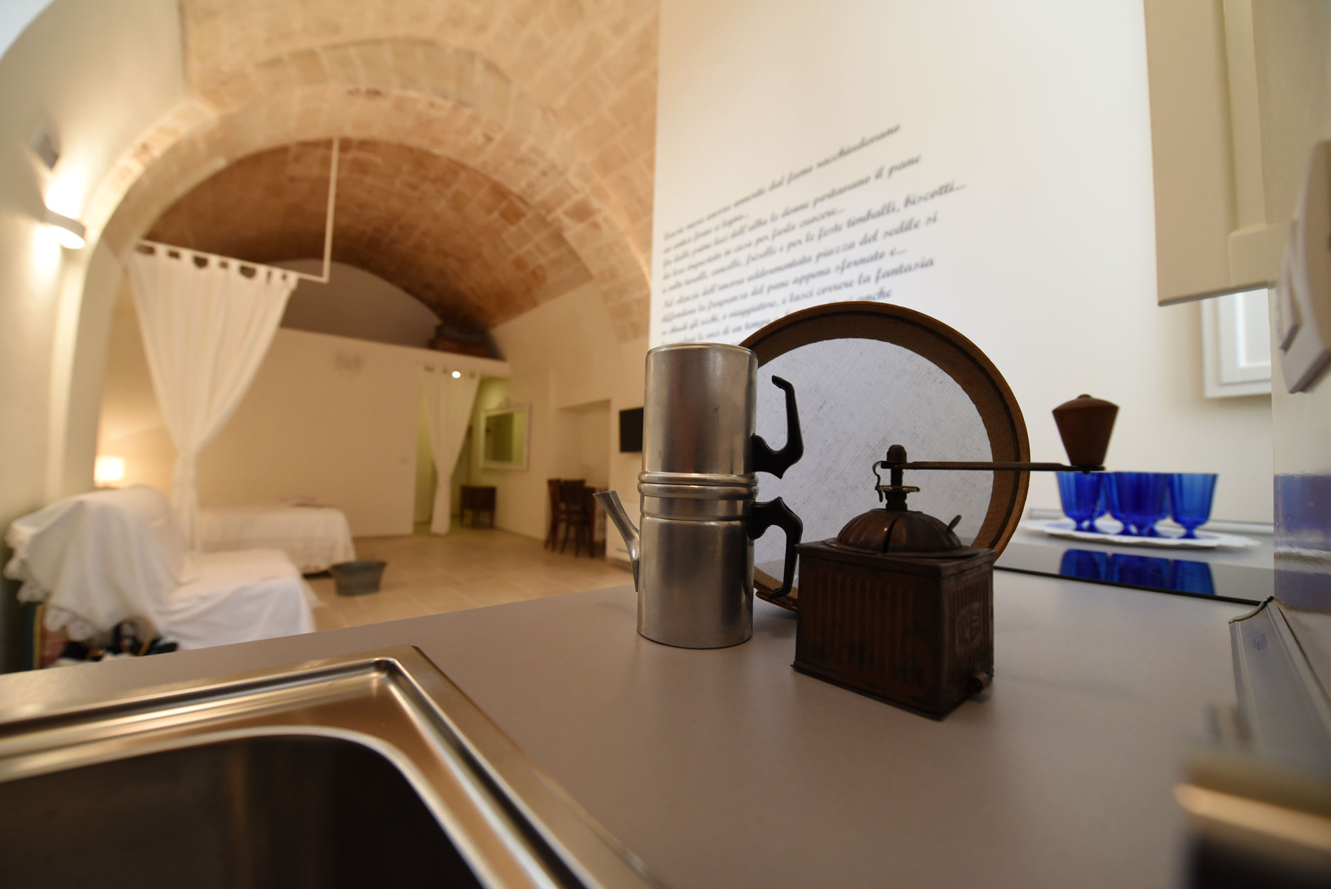 Camera con cucina Residenza Già Antico Forno