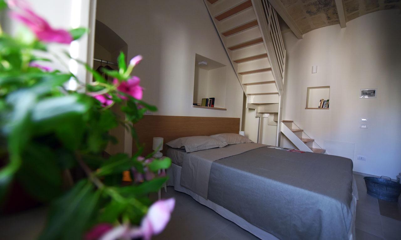 Camera con balcone Residenza Già Antico Forno